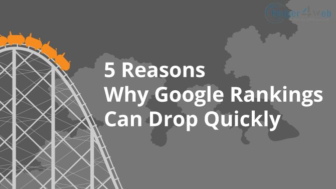 Why Your SEO Ranks Drop – And what to do about it